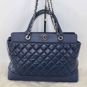 💯AUTHENTIC Chanel 2-way tote bag